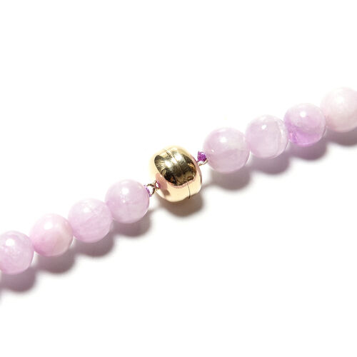 Limited Available- 9K Yellow Gold Kunzite Necklace (Size 20) 335.50 Ct.