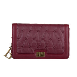 Bulaggi Collection Chester Crossbody Bag - Burgundy