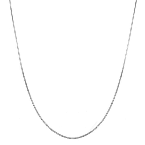 Sterling Silver Panza Curb Chain (Size 24), Silver wt 6.20 Gms