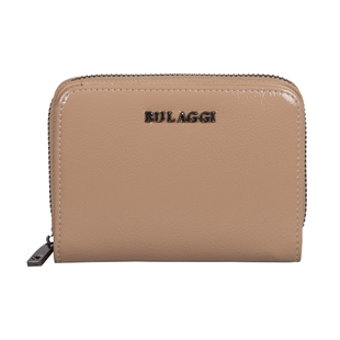Bulaggi Collection - Acacia Small Wallet with Zipper Closure (Size 12x09x02 cm) - Taupe