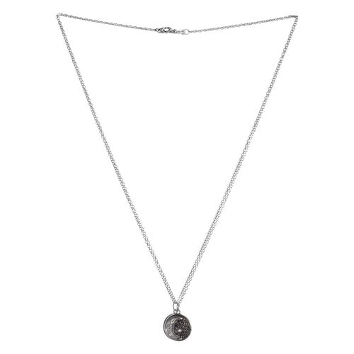 Sterling Silver Love Quote Pendant with Chain