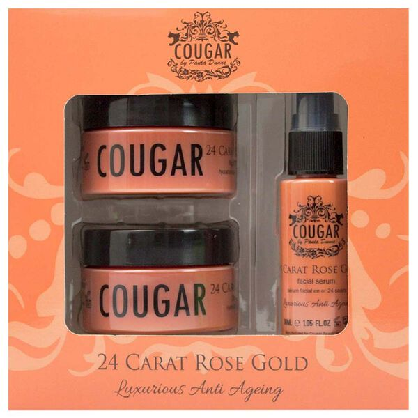 CB&CO: 24 Carat Rose Gold Set (Incl. 24 Carat Rose Gold Cream - 50ml, Night Cream - 50ml & Facial Serum - 30ml)