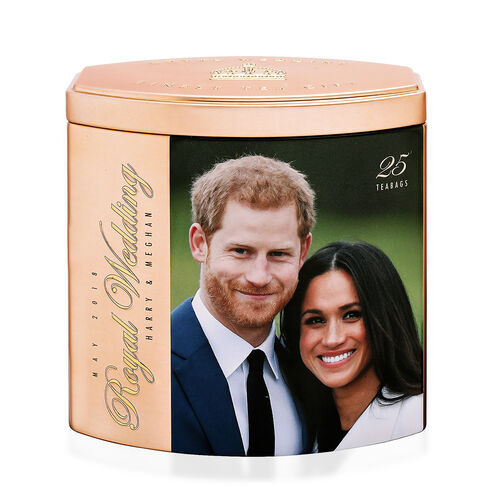 AHMAD TEA Harry and Meghan Engagement Tea Gift Rose. 25 Tea Bags