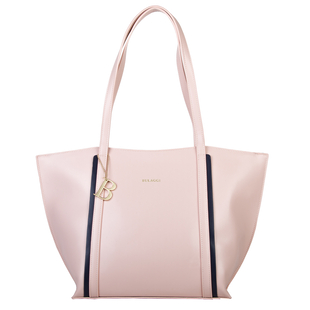 Bulaggi Collection - Zsazsa Shopping Bag with Zipper Closure in Dusty Pink (Size 29x29x14cm)