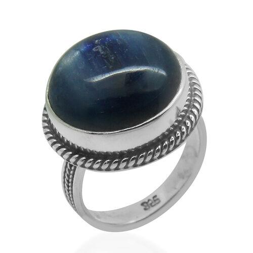 Royal Bali Collection Himalayan Kyanite (Rnd) Ring in Sterling Silver 15.140 Ct.