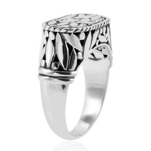 Royal Bali Collection Sterling Silver Ring, Silver wt 7.80 Gms.