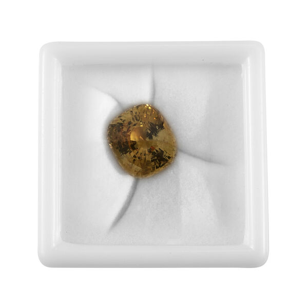 AAAA Yellow Sapphire Cushion Free Faceted 69.70 Ct.