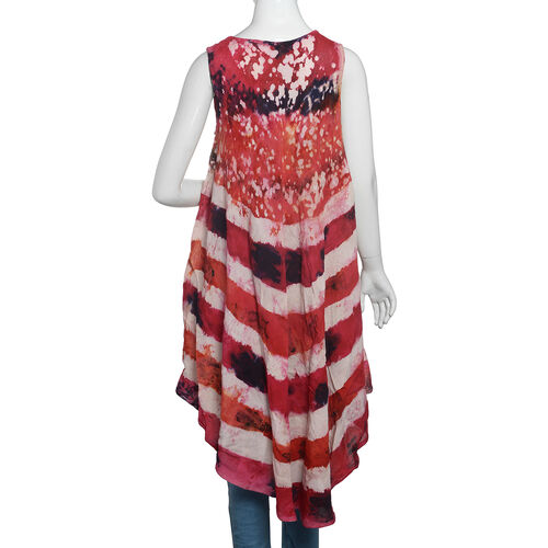 Red, White and Multi Colour Printed Apparel (Free Size)