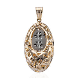 Royal Bali Collection 9K Yellow Gold Pendant.Gold Wt 3.00 Gms