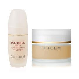 Cetuem: Gold Regenerator Serum - 50ml (With free SCR Gold Body Serum - 100ml)