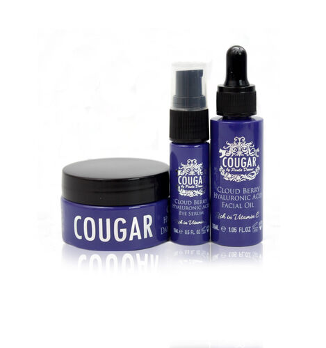 CB&CO: Cloud Berry Hyaluronic Acid Set (incl. Cloud Berry Facial Oil, Day & Night Cream & Eye Serum),
