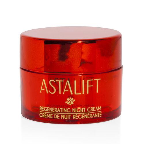 Astalift: Regenerating Night Cream - 15g & Make-Up Remover Oil - 30ml