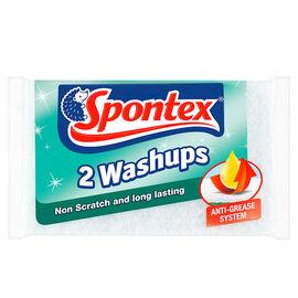 Set of 2 - Spontex Non Scratch Washups