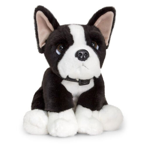 Easter Special Keel Toys - Black and White Colour Boston Terrier Puppy (35 Cm)