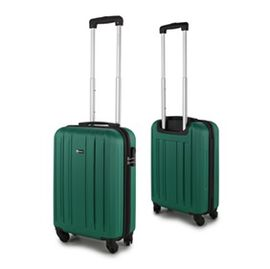 Close Out Deal- 21 Inch Carry On Luggage Lightweight ABS Shell 4 Wheel Spinner Suitcase - Green