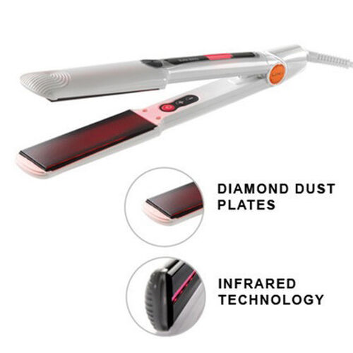 MAX CENTINI- Splash Detangling Brush Purple, Heat Resistant Comb, Heat  Resistant Hair Clips and Heat Mat