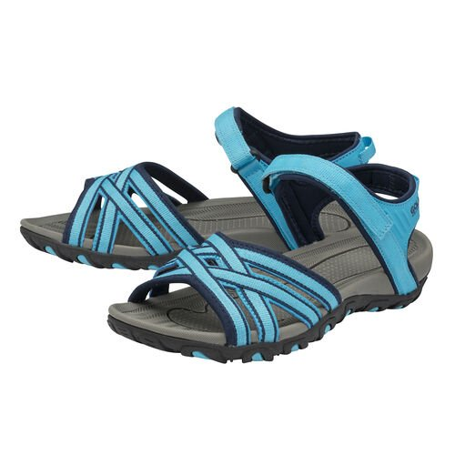 Gola Safed Walking Sandals (Size 4) - Blue and Navy