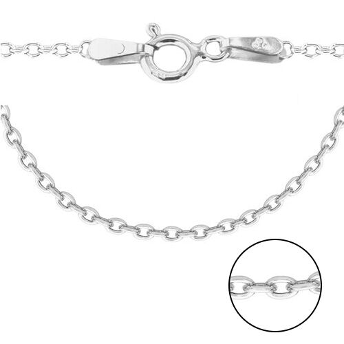 Sterling Silver Trace Chain (Size 20) g