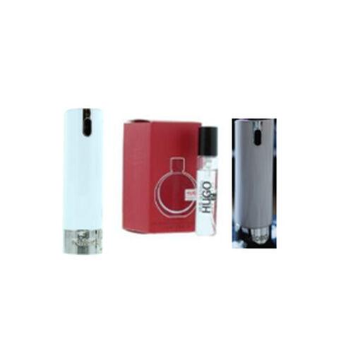 Reload Mini Perfume Spray White (Incl. Hugo Boss Woman - 5ml & Grey Skin)