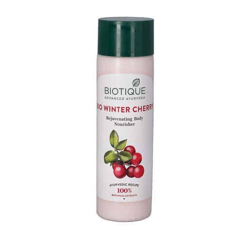 Biotique Bio Winter Cherry Rejuvenating Body Nourisher - 190ml