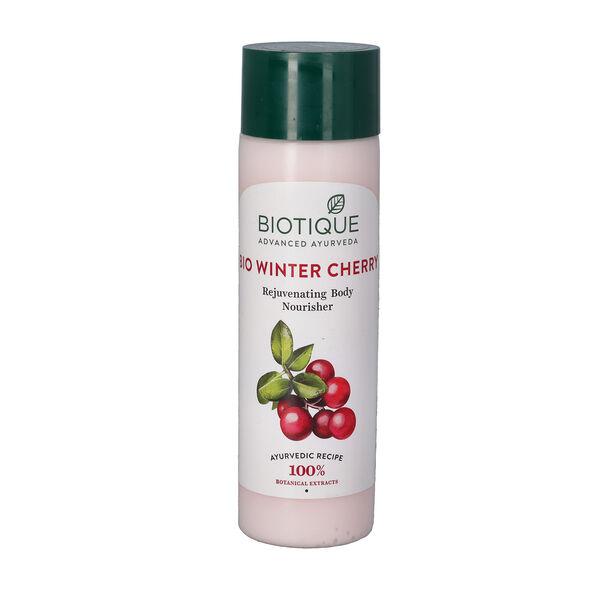 Biotique Bio Winter Cherry Rejuvenating Body Nourisher - 190ml