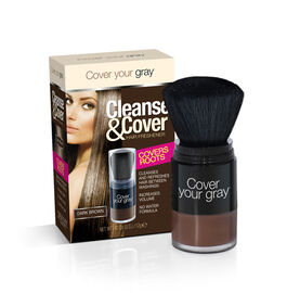 (Option-1) CYG: Cleanse & Cover Hair Freshener - Dark Brown