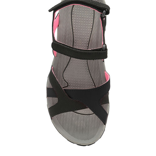 Gola Cedar Walking Sandal (Size 5) - Black/Hot Pink