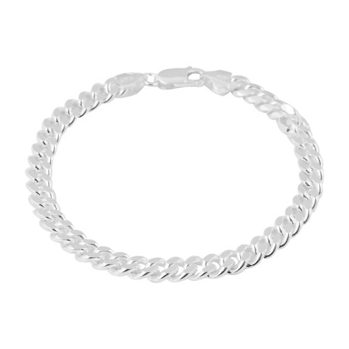 Made in Italy - Sterling Silver Bracelet (Size 8), Silver wt 20.90 Gms