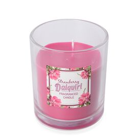 Fragranced Candle with Rose Red Wax (Strawberry Daiquiri Fragrance)