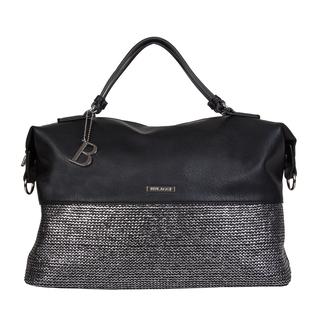 Bulaggi Collection - Wave Duffle Bag with Zipper Closure and Detachable Shoulder Strap (Size 40x26x1