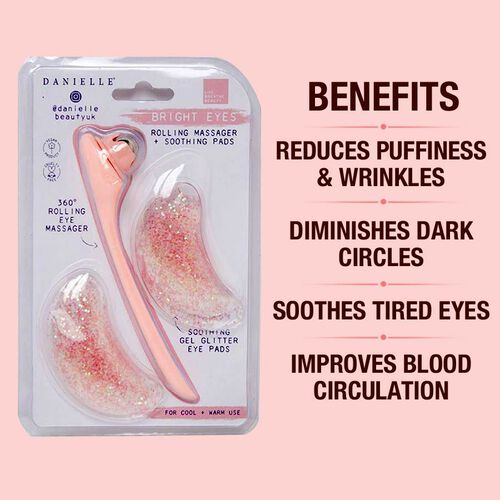 Danielle: Bright Eyes 360 Degree Rolling Massager & Soothing Gel Pads