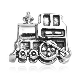 Charmes De Memoire Train Charm in Platinum Plated Sterling Silver 3.15 Grams