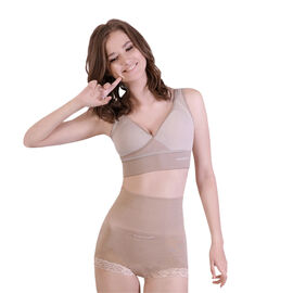 """DOD - Sankom Switzerland Patent Premium Cooling Beige High Waisted Briefs"