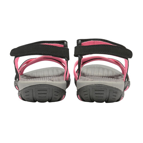Gola Cedar Walking Sandal (Size 5) - Black/Hot Pink