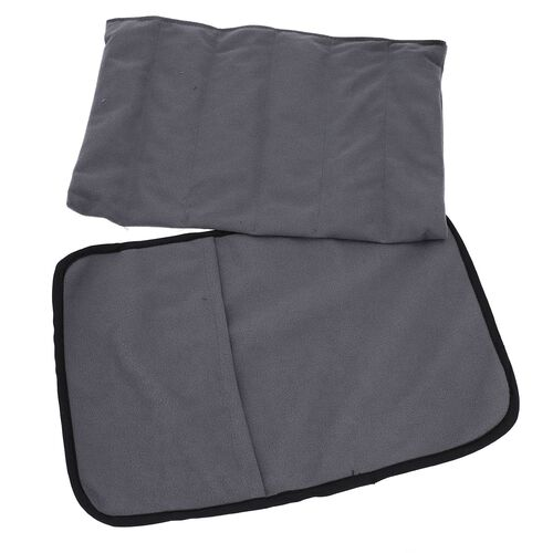 Super Auction - Shungite Mat with Cover (Size 127x10cm) weight - 1.01 lbs - Grey