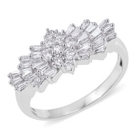 Rhapsody Diamond 950 Platinum Ring  1.010  Ct.