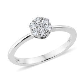 RHAPSODY 950 Platinum Diamond (Rnd) Ring 0.250 Ct.
