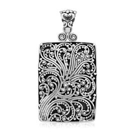 Royal Bali Collection Ocean waves Design Pendant in Sterling Silver 15.58 Grams