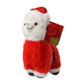 Keel Toys - Llama with Outfit (Size 20 Cm) - Red