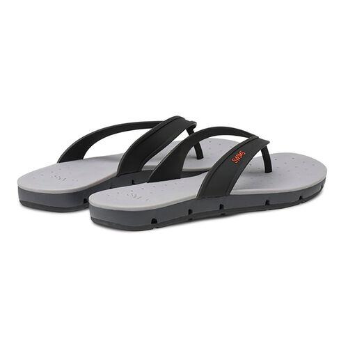Swims Breeze Mens Flip Flop Sandals (Size 11) - Black and Graphite