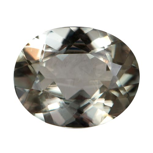 AA Diaspore Oval 11x9 Faceted 3.37 Cts