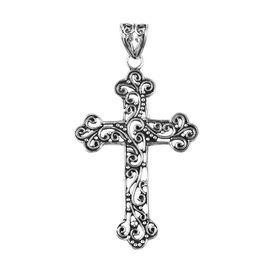 Cross Pendant in Sterling Silver 4.82 Grams