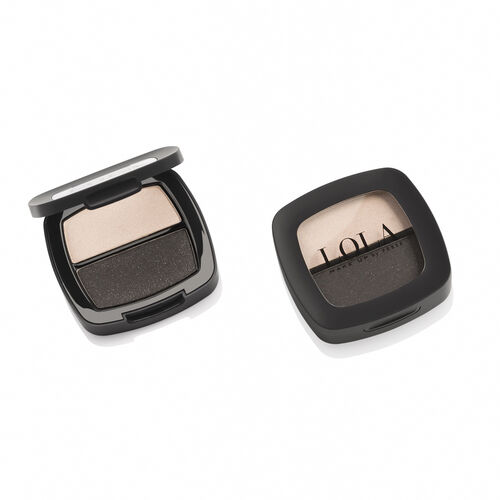 Lola: Duo Eyeshadow (Grey) - 001