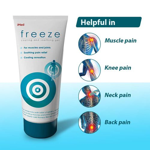 iMed: Freeze (Cooling & Soothing) Gel - 200ml