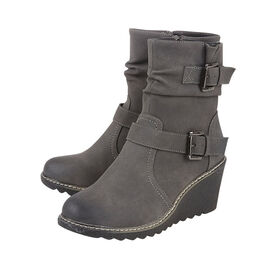Lotus Pheobe Ankle Boots Grey