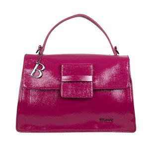 Bulaggi Collection - Acacia Handbag with Detachable Shoulder Strap (Size 32x21x13cm) - Fuchsia