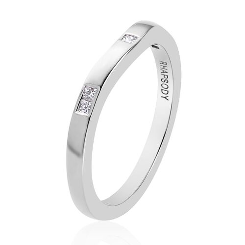 RHAPSODY 950 Platinum IGI Certified Diamond (VS/E-F) Ring