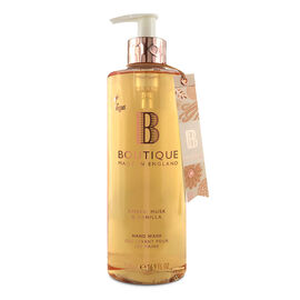 Boutique: Amber, Musk & Vanilla Hand Wash - 500ml