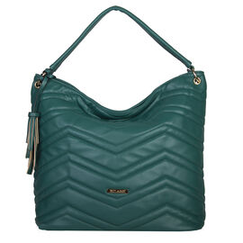 Bulaggi Collection- Calanthe Hobo Shoulder Bag (Size 32x32x14 Cm) - Emerald Green