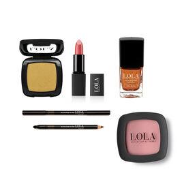 Lola: Allegoria Look (Incl. Single Eyeshadow, Eyepencil, Blusher, Intense Colour Lipstick & Nail Pol